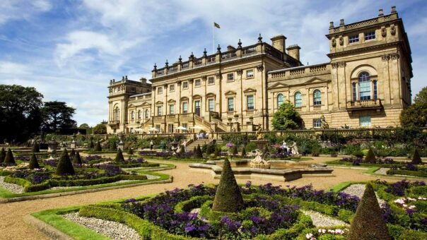 Harewood House was designed by Robert Adam