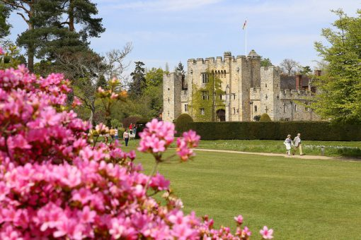 Hever Castle is a beautiful historic estate in Kent