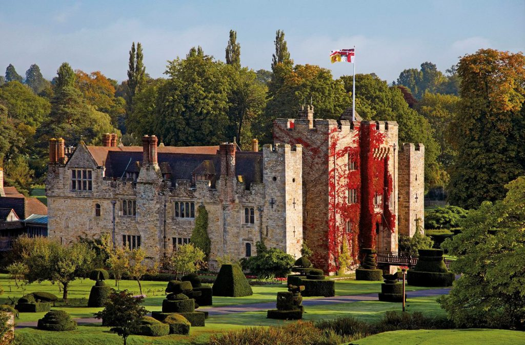 Hever Castle and Gardens in September