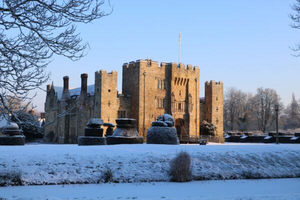 Hever Castle was the home of Anne Boleyn