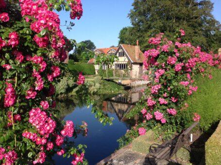 Hindringham Hall beautiful English gardens
