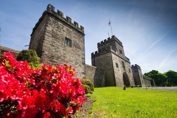 Hoghton Tower in Lancashire