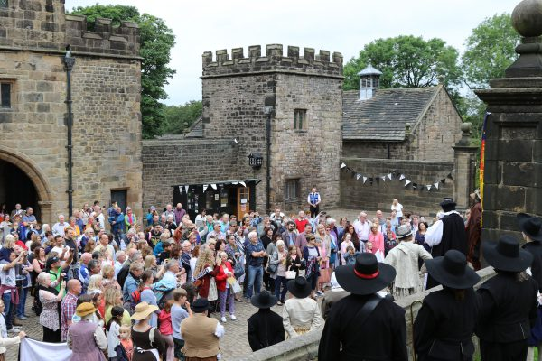 Hoghton Tower history event at the castle