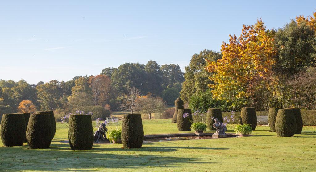 Hole Park garden in Kent