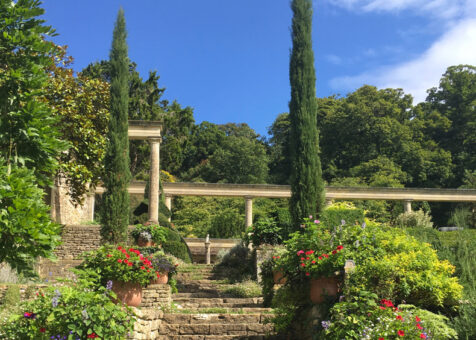 Iford Manor Gardens in the summer