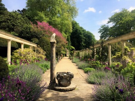 Iford Manor Gardens is a beautiful historic English garden