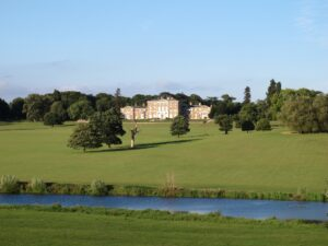 Woodhall Park is a glorious English country house