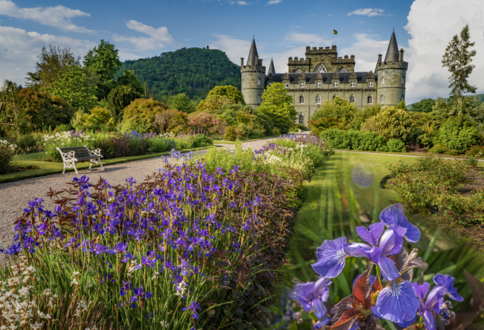 Inveraray Castle gardens and grounds