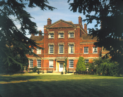 Island Hall is a beautiful historic house in England