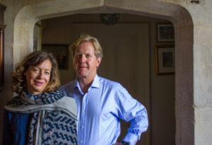James and Claire Birch of Doddington Hall in Lincolnshire
