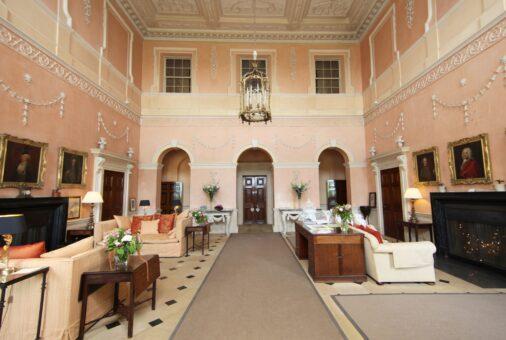 Kelmarsh Hall Great Hall