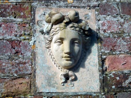 Kelmarsh Hall stone sculpture