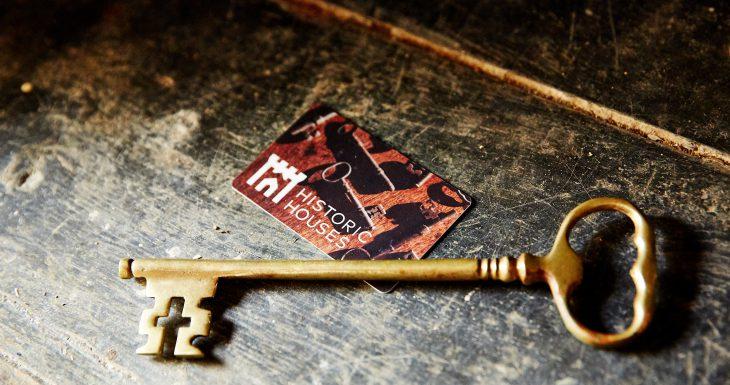 Key membership card Sudeley