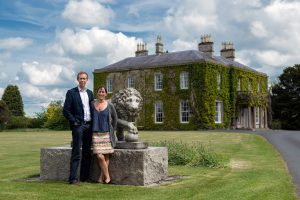 Gavin and Sarah Mackie of Larchfield House