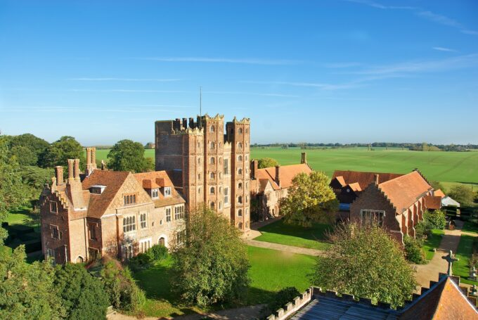 Layer Marney Tower overhead view
