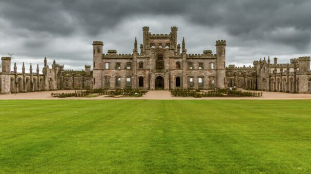 Lowther Castle is a beautiful ruin of an historic house