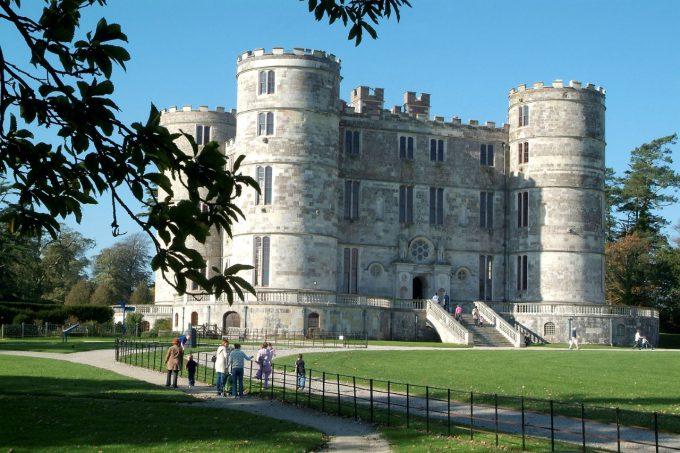 Lulworth Castle in Dorset