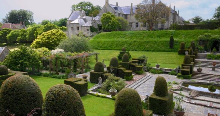 Mapperton House and Gardens in South West England