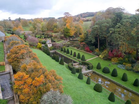 Mapperton Italian Gardens and topiary
