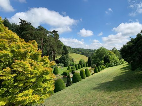 Mapperton Gardens is a glorious place to visit in Dorset