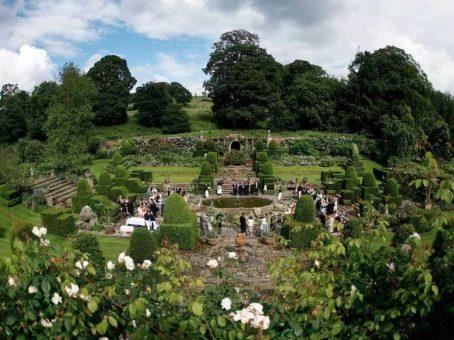 Mapperton Gardens hosts wedding ceremonies