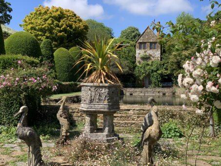 Mapperton Gardens sunshine
