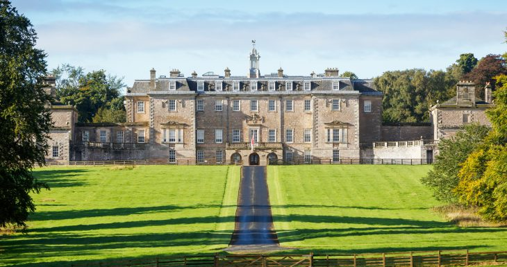 Marchmont House in Berwickshire
