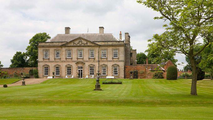 Melbourne Hall in Derbyshire
