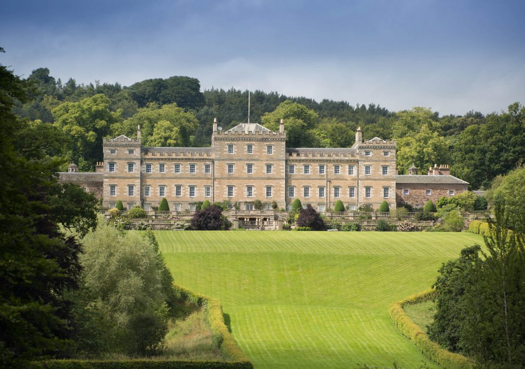 Mellerstain House in Berwickshire