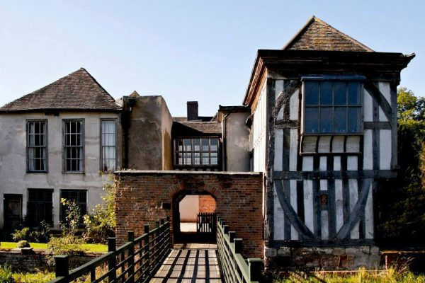 Middleton Hall historic Tudor manor in England