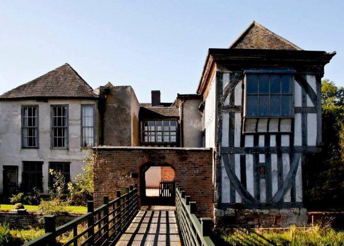 Middleton Hall historic Tudor manor in England