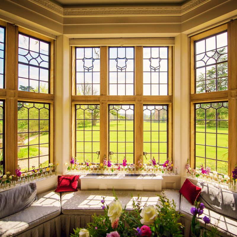 Minterne House window