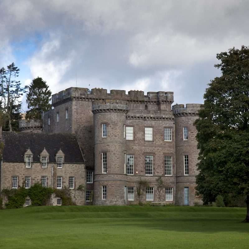 Monzie Castle in Perthshire