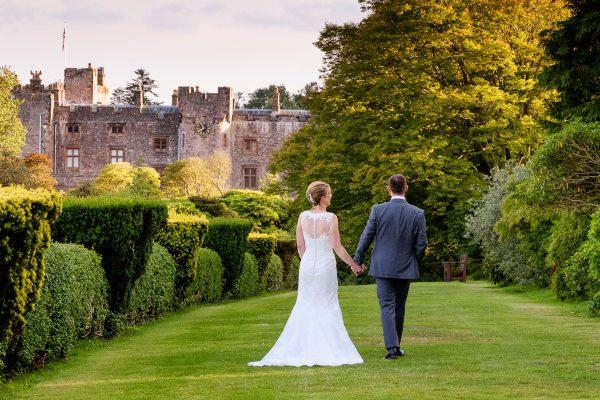 Muncaster Castle wedding
