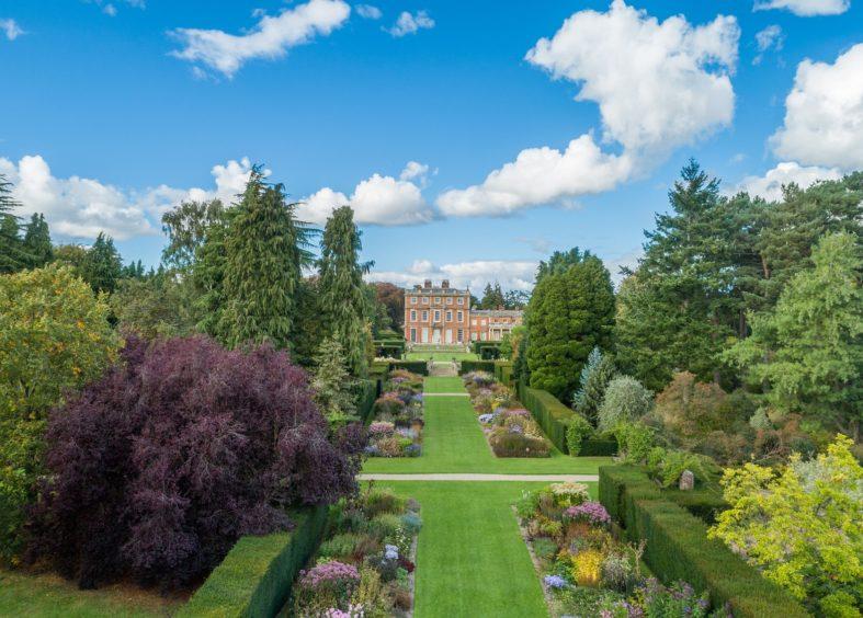 Newby Hall Gardens in summer