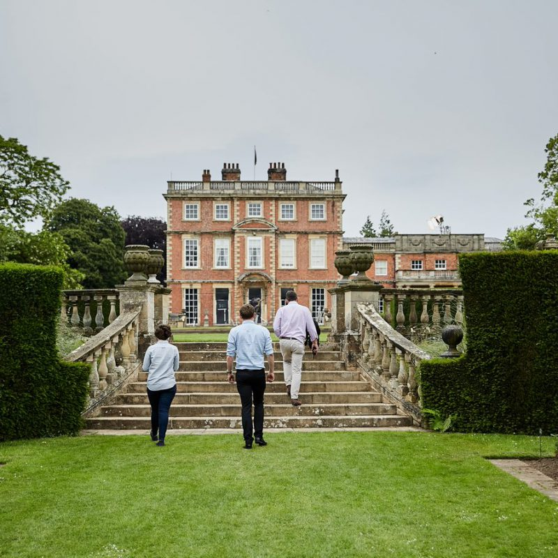 Newby walk photo by Historic Houses