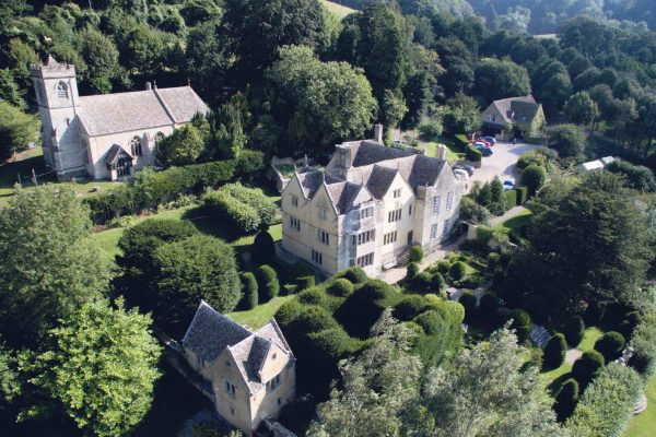 Owlpen Manor in Gloucestershire