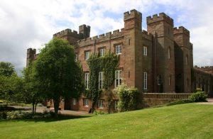 Scone Palace in Perth, Scotland
