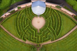 Shane Webber Photography Maze at Combermere Abbey