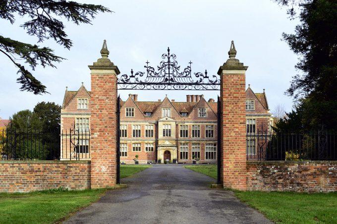 Shaw House gates