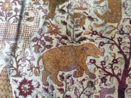 Silk rug of Broadward Hall rhino