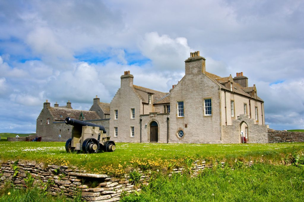 Skaill House in the Orkney Islands
