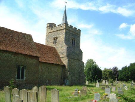 Stanstead Bury church