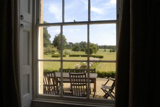 Stanstead Bury window view