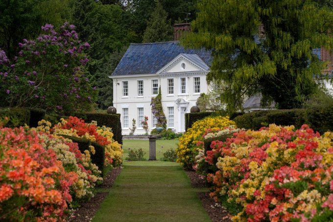 Stody Lodge Gardens in Norfolk