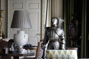 Suit of armour at Burghley
