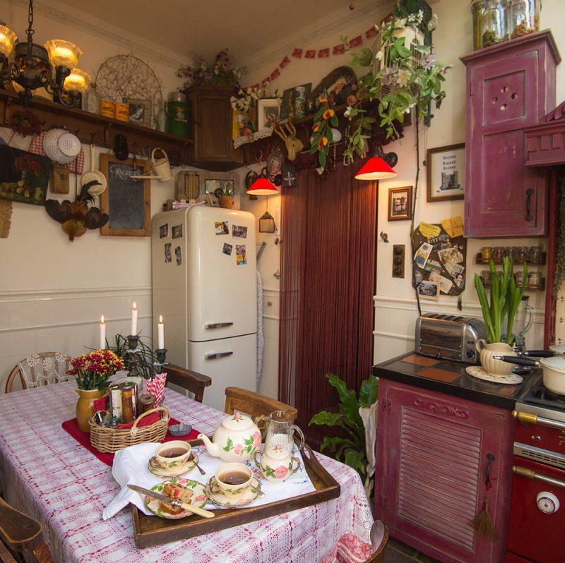 Talliston House kitchen for Afternoon Tea