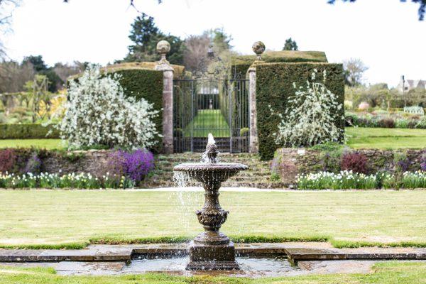 The Garden at Miserden fountain