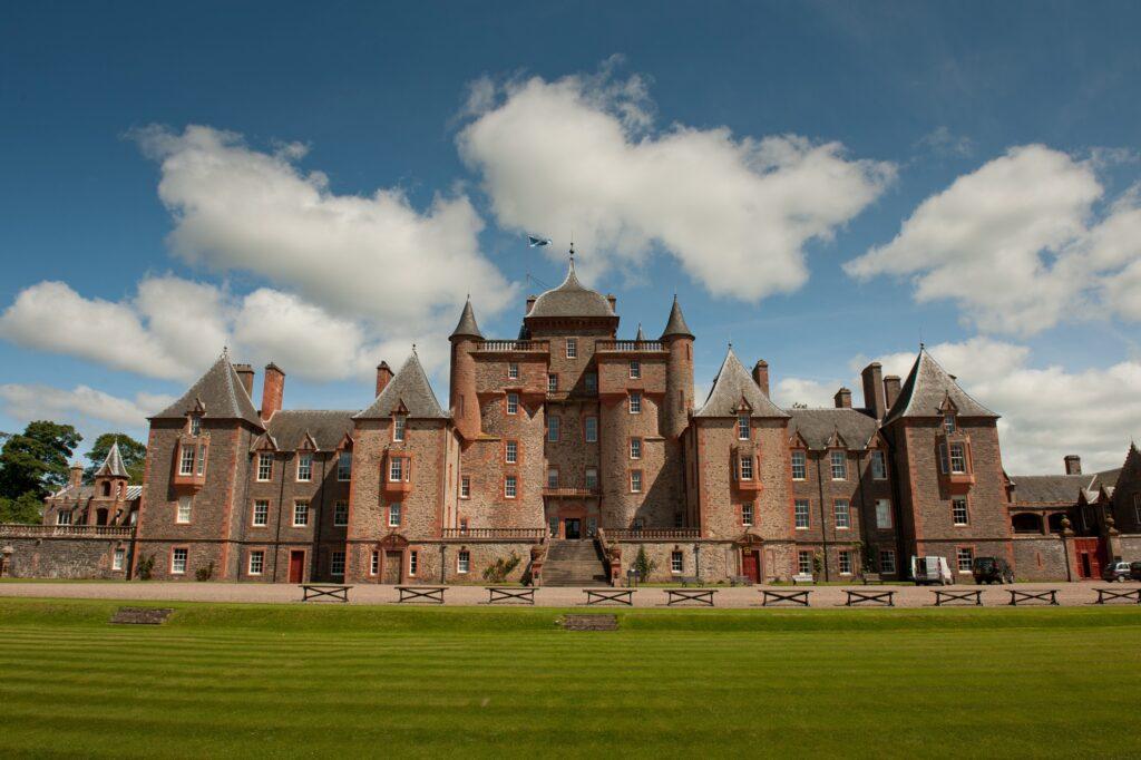 Thirlestane Castle in Scotland