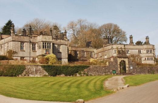 Tissington Hall historic estate in Derbyshire